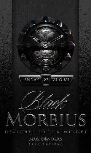 Morbius designer Clock Widget