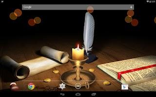 Screenshot of 3D Melting Candle