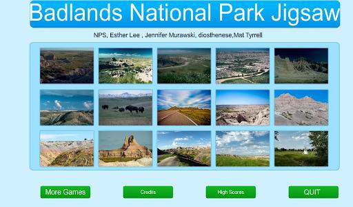 Badlands National Park Jigsaw
