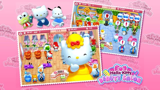 Hello Kitty Beauty Salon- screenshot thumbnail
