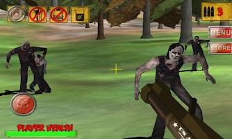 Screenshot of 3D Hunting: Zombies Reloaded