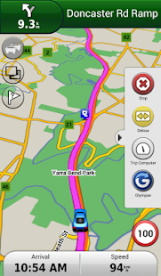 Garmin Navigator Screenshot 1