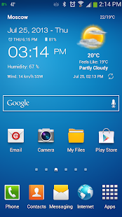 Weather & Clock Widget - screenshot thumbnail