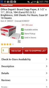 Office Depot® - screenshot thumbnail