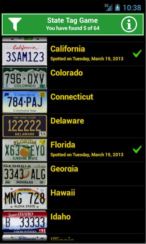 State Tag- screenshot