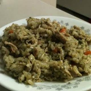 Peruvian Cilantro Rice.
