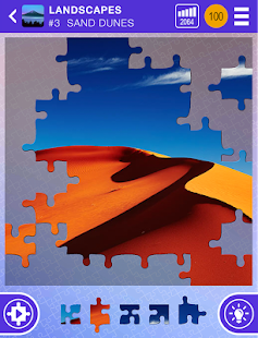 100 PICS Puzzles - FREE Jigsaw Screenshot 9