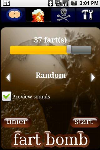droidFart #1 Fart App! - screenshot