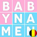 Prenoms de bebes Belgique icon