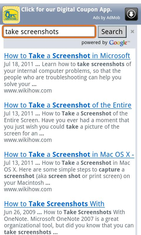 How To - screenshot