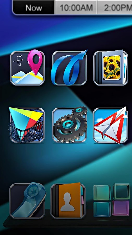 Next Launcher 3D - screenshot