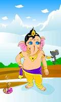 Screenshot of Ganesha speaks