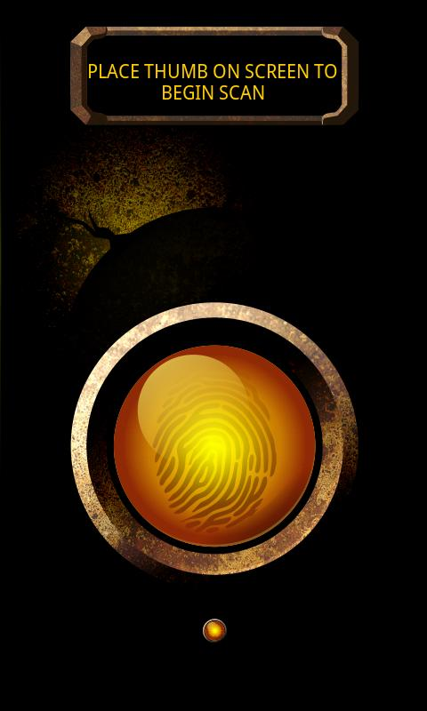 Prank Finger Print Scanner - screenshot