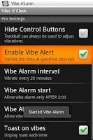 Screenshot of Vibe O'Clock