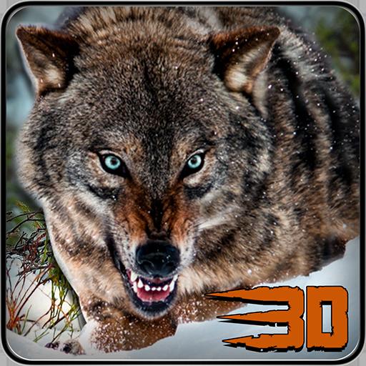 模拟のワイルドウルフ攻撃シミュレータ3D LOGO-記事Game
