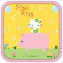 Hello Kitty Bubble Theme icon