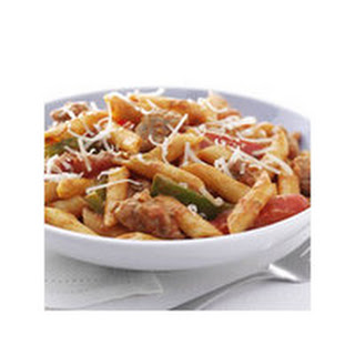 Zesty Penne, Sausage and Peppers.