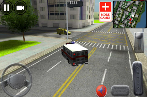 City Ambulance Driving 3D