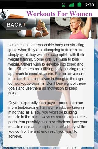 Workouts For Women Secrets