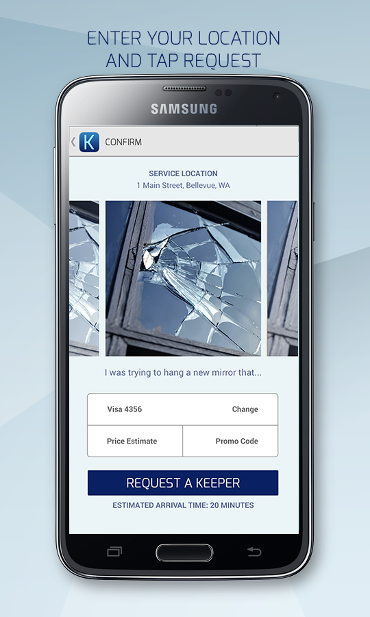 Keepe - Handyman on Demand- screenshot