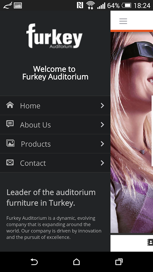Furkey Auditorium- screenshot