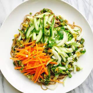 Buckwheat Soba Noodle Salad.