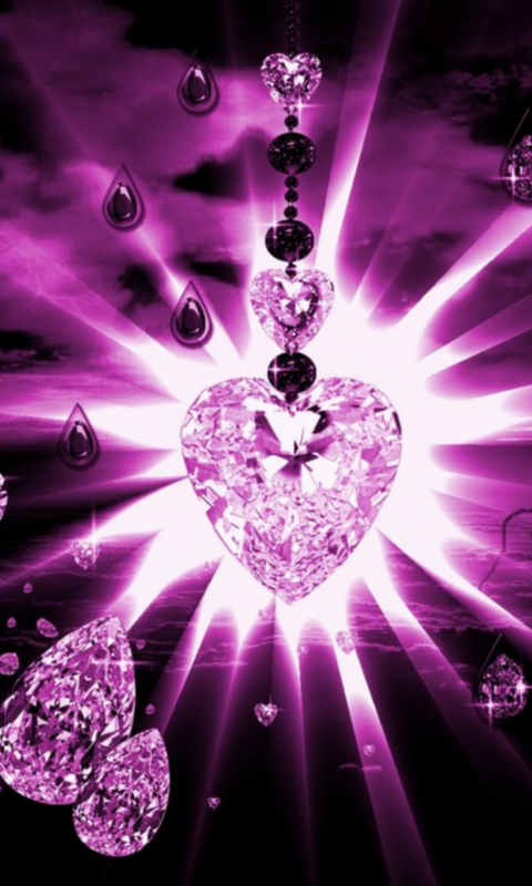 Hd wallpaper live - Pink Diamonds Wallpaper Hd Images Amp Pictures Becuo