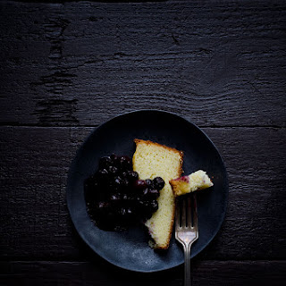 Fromage Blanc Cake with Berry Compote.