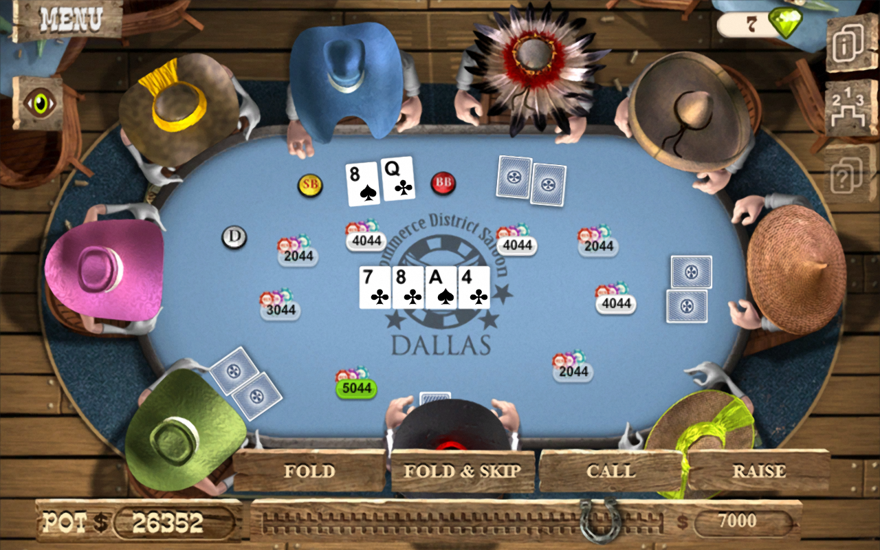 governor texas holdem poker free download