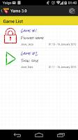 Screenshot of Yams 3.0