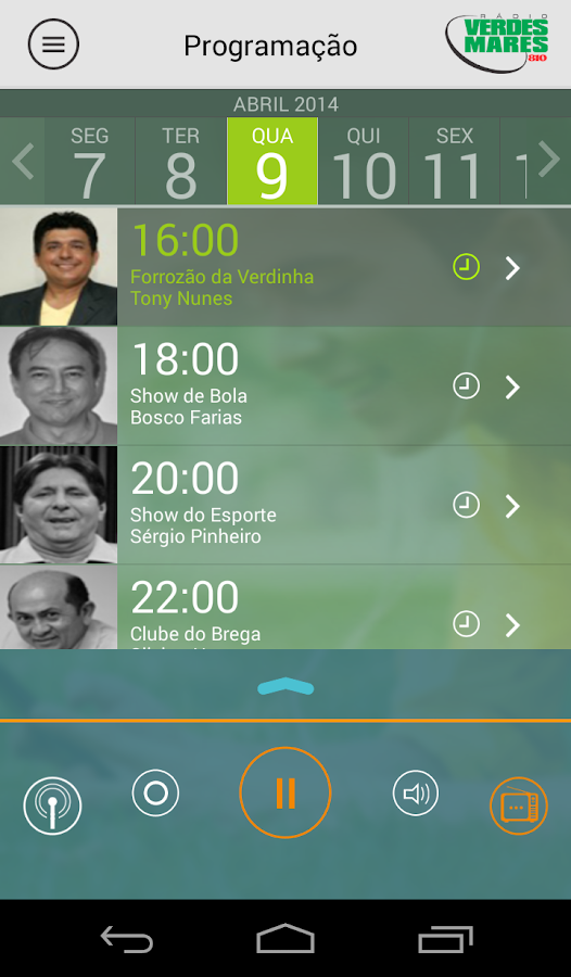 AM 810 Verdinha - screenshot