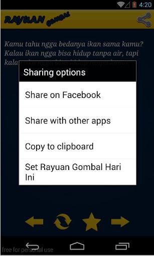 【免費書籍App】Rayuan Cinta Gombal-APP點子