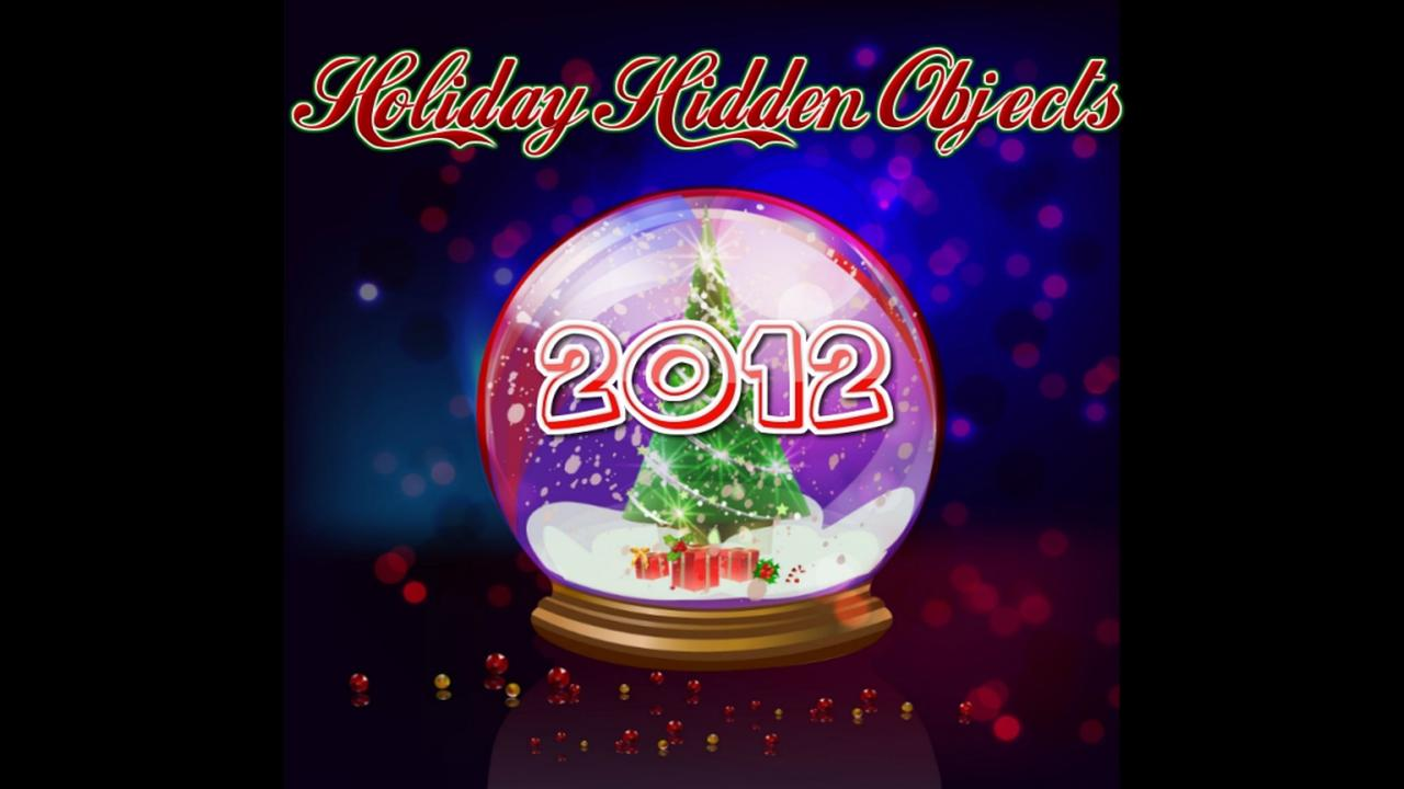 2012 Holiday Hidden Objects - screenshot