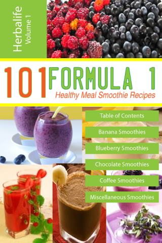 101 Formula 1 Smoothie Recipes