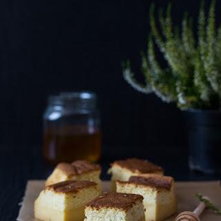 Honey Custrad Magic Cake