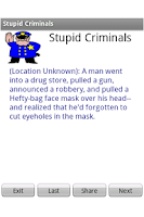 Screenshot of Stupid Criminals