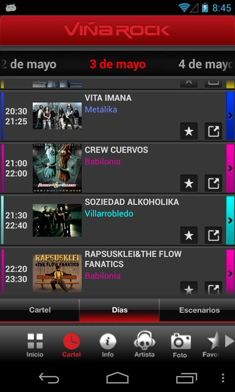 Viña Rock 2014 - screenshot