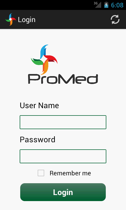 ProMedLite- screenshot