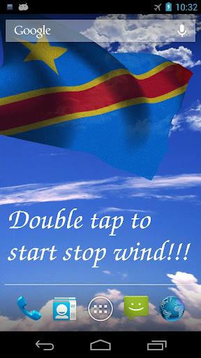 3D DR Congo Flag LWP +