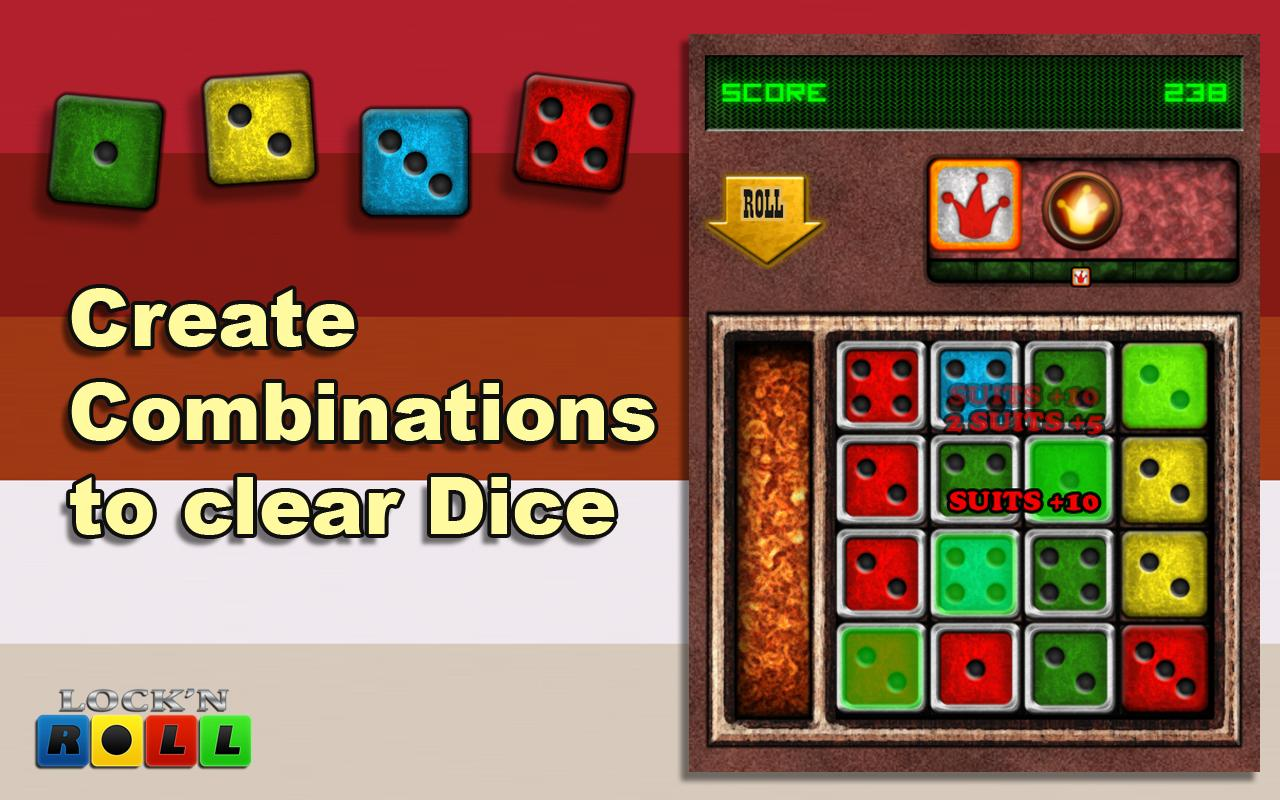 LNR Free- Dice and Puzzle Game - screenshot