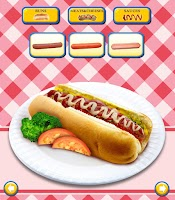 Screenshot of Hot Dog Maker!