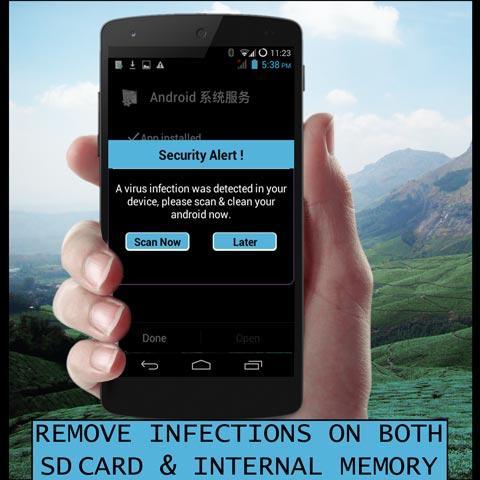 antivirus android phones 2015 - screenshot