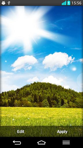 陽光燦爛的日子的動態壁紙