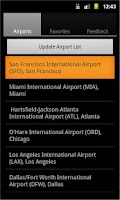 Screenshot of Airport Monitor Free