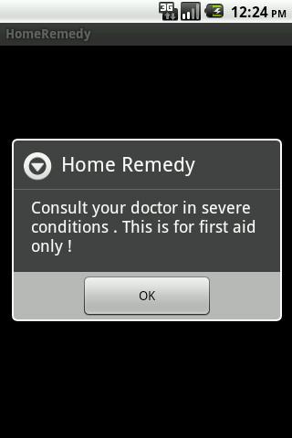 HomeRemedy - screenshot