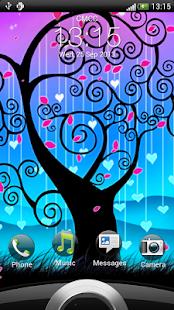 玩個人化App|愛情樹動態壁紙免費|APP試玩