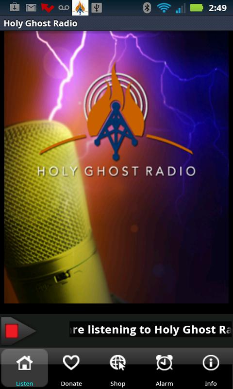 Holy Ghost Radio - screenshot