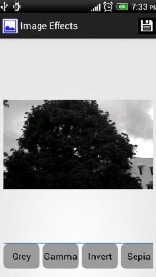 Image Effects - screenshot