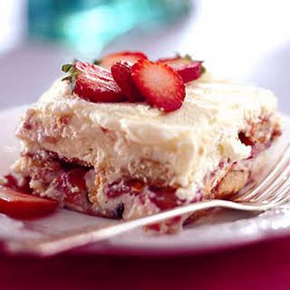 Strawberry Tiramisu.