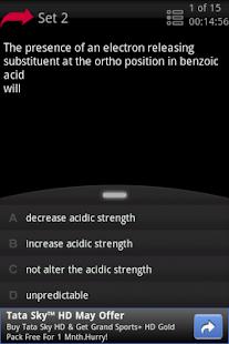 Organic Chemistry - Class 12- screenshot thumbnail